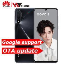 HuaWe Nova 5 Mobile Phone 6.39 inch Kirin 810 Android 9.0 23
