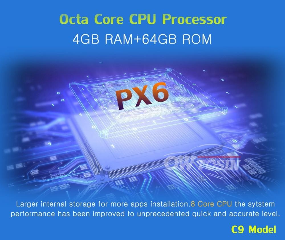 "Best 7"" PX6 4G+64G 2 Din Android 9.0 Car DVD Multimedia Player For KIA Ceed 2009 2010 2011 2012 Venga Radio GPS Navigation DSP CarPla 5"