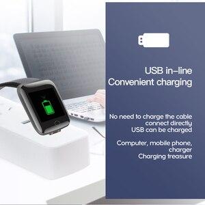 Image 4 - Smart Uhr Herz Rate Uhr Smart Armband Sport Uhren Smart Band Paar Smartwatch für Android Apple Uhr ios pk iwo