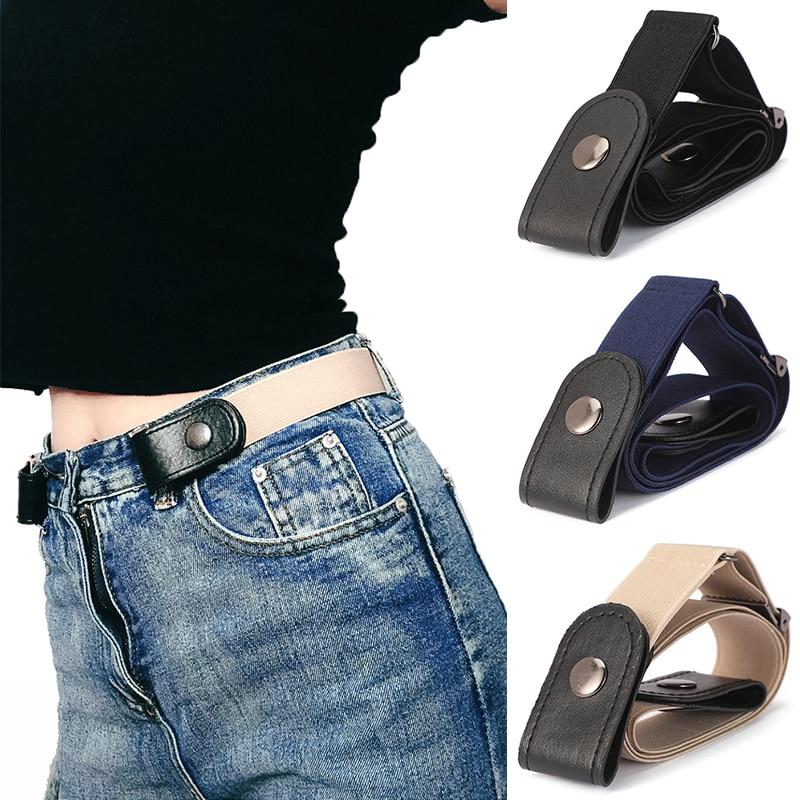 No Buckle Stretch Elastic Waist Belt for Women/Men,Buckle-Free Belt for Jean Pants,Dresses,No Hassle Waist Belt