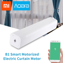 Original Aqara B1 Wireless Smart Motorized Electric Curtain Motor 12cm/S WiFi/Voice/App Control One-Key Home Kits 3030mAh