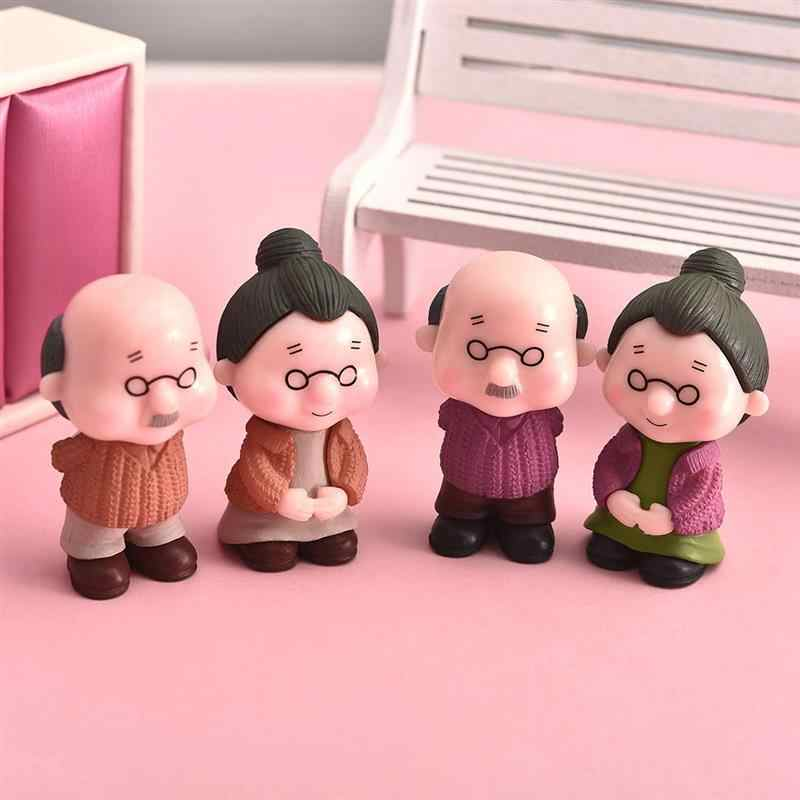Nette Miniatur Fee Garten Puppenhaus Hochzeit Paare Figur Bonsai Decor