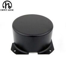 מעגלי שנאי כיסוי החיצוני גודל 140*74mm balck מתכת מתכת מגן כיסוי 200W 300W 500W טבעתי שנאי