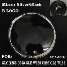 Embleem Insignia Voor Gle W166 C292 Glc X253 C253 Gls X166 Klasse Grille Trunk Hood Hub Valve Cap Cover badge Zwarte Zilveren B
