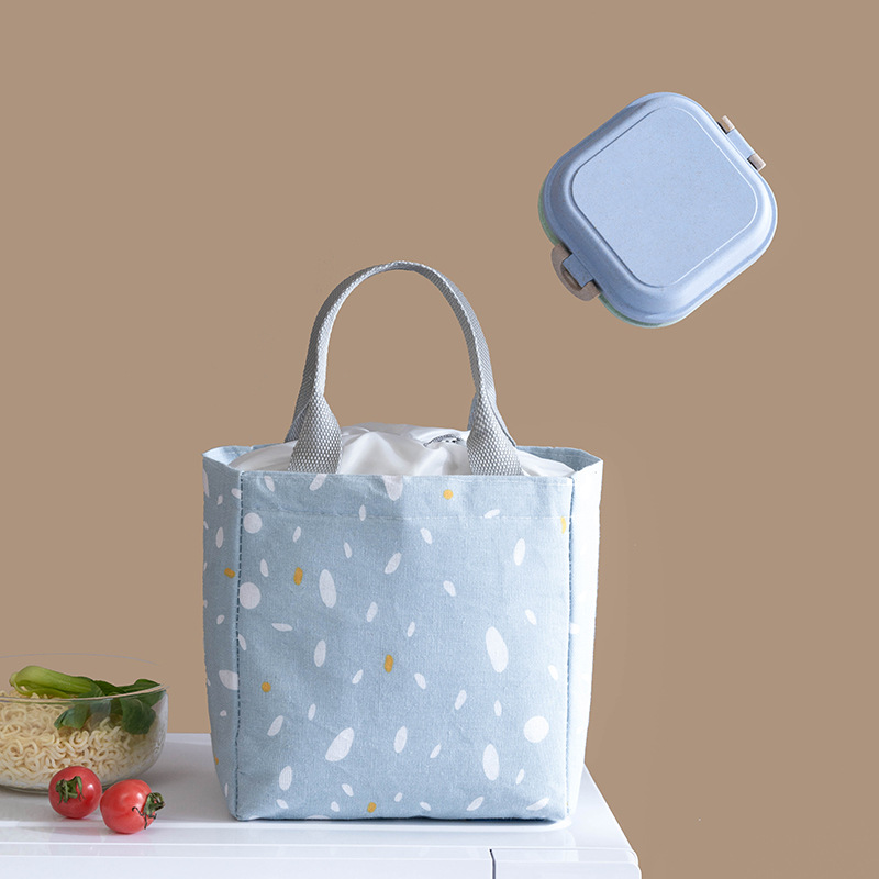 New Fashion Portable Thermal Lunch Bag Food Fresh Pouch Office Picnic Drink Cold Insulation Organizer Tote Accessories Supply