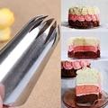 # 1E большие цветочные насадки покрытие из нержавеющей стали трубы насадки для кондитерского шприца сопла насадки для выпечки печенье десер...