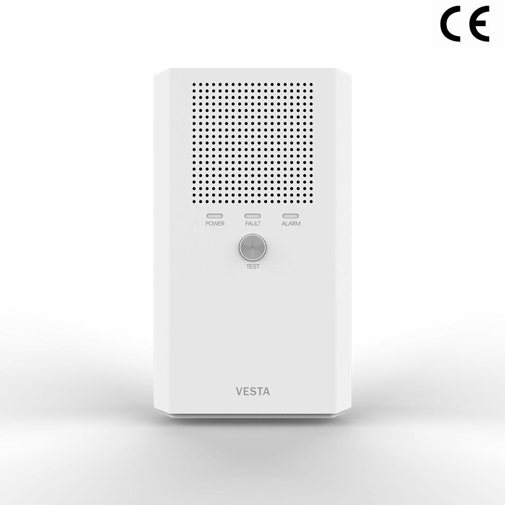 CE Approved Hanwei VESTA Natural Gas Alarm  ,Long Life Sensor Module Design ,EN50194  Pending,Optional Valve Relay Output