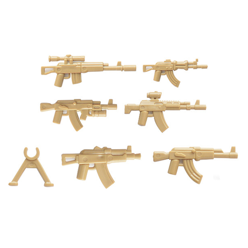lego military weapons guns blocks 9