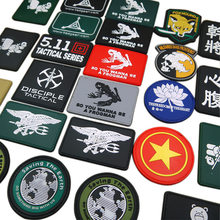 PVC Armband Seal Clothing Sewing Fabric Patches Badge 3D Uniform Tactical Backpack Personality Morale Chapter Bandage