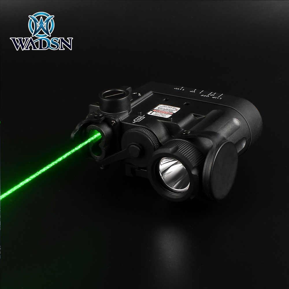Wadsn Tactique DBAL-D2 Visible Laser//IR DEL Lampe De Poche Appareil-FDE Tan