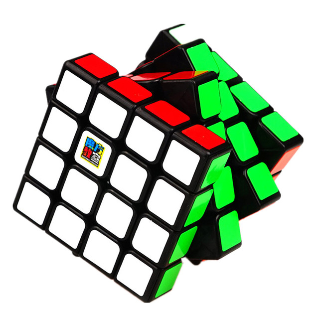 Moyu Meilong 4x4 Speed Cube Magic Puzzle Strickerless 4x4x4 Neo Cubo Magico 59mm Mini Size Frosted Surface Toys for Children 6