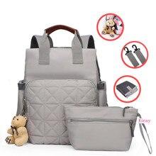 Mumya sırt çantası büyük kapasiteli annelik Nappy bebek bezi seyahat Tote tasarımcı hemşirelik bez bebek çantası anneler için Bebe bakımı