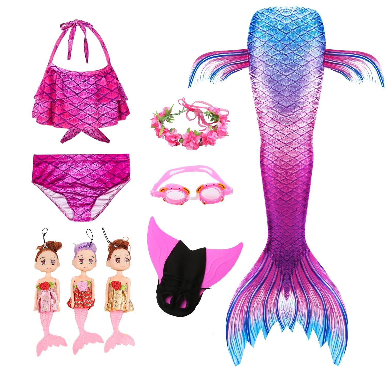 Details about  /New Disney Store Ariel Swim Goggles Girls Swimwear The Little Mermaid