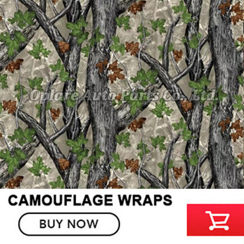 FS009 1.52x5/10/15/20/25/30m Spring Realtree Camo Vinyl Wrap Car Wrap With Air Release For Truck Vehicle Sticker