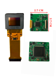Image 5 - רזולוציה גבוהה OLED תצוגה זעירה 0.5 אינץ AMOLED 1024*768 קסדת תרמית הדמיה פנימי מסך ראיית לילה אנחה
