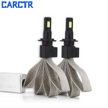 CARCTR 2PCS Car Lights H4 H7 LED  H8 H9 HB1 HB3 9006 9007 880 9005 H11 Car Headlight Bulb Lamp LED Light 12V 8000LM 6000K 72W