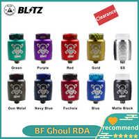 Blitz Ghoul BF RDA Innovative Single Spule Holt Tank E-cig mit keramik clamp und BF pin 22mm PK hellvape toten r