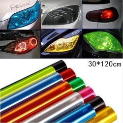 30X120/60CM Auto Car Light Headlight Taillight Tint Styling Waterproof Protective Vinyl Film Tintting Sticker Car Accessories