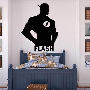 Flash Wall Decal Boys Dormitor