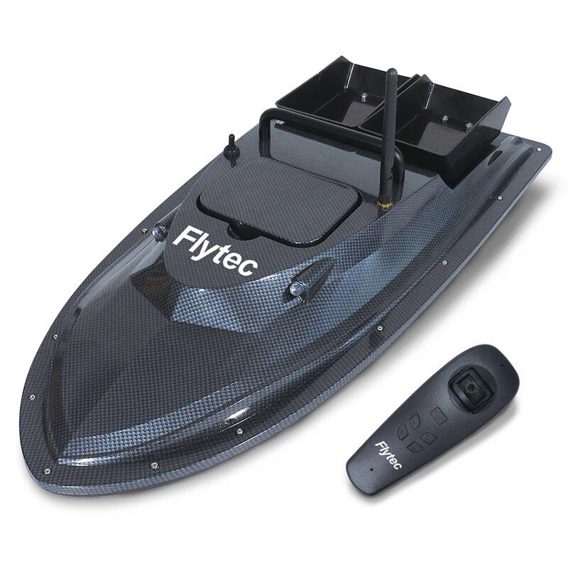 Flytec V007 RC bateaux pêche en plein air bateau de nidification croisière à vitesse fixe Correction de lacet coque à Double moteur conception Anti-interférence