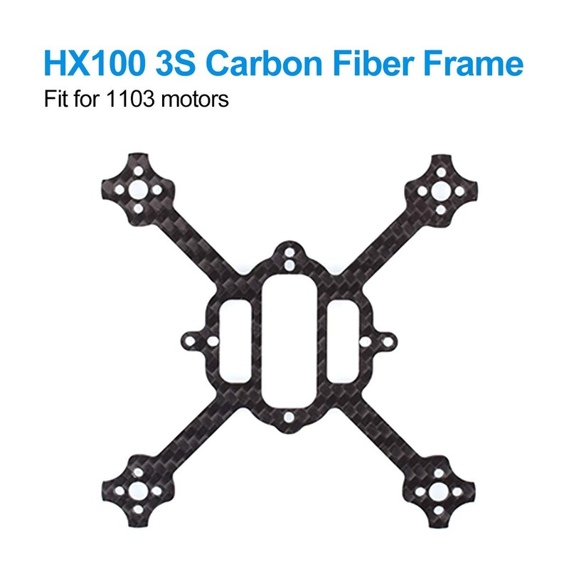 BETAFPV HX100 Mini FPV Racing Toothpick Frame Of Carbon Fiber 100mm For HX100 3S Brushless Racing Whoop Toothpick Carbon Fiber