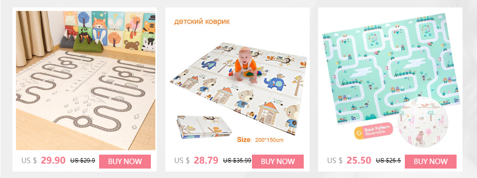 H9457b7da23db47e69c2a6f9011c662d4z XPE Baby Play Mat Crawling Mat Double Surface Baby Carpet Rug Developing Mat for Children Game Pad Game Pad Children Room Decor