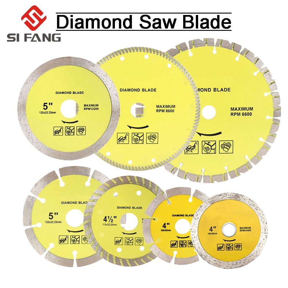 105mm/115mm/125mm/180mm/230mm Diamond Segment Saw Blade Cutting Disc Wet/Dry Circular Cutting Wheel For Marble Granite Concrete