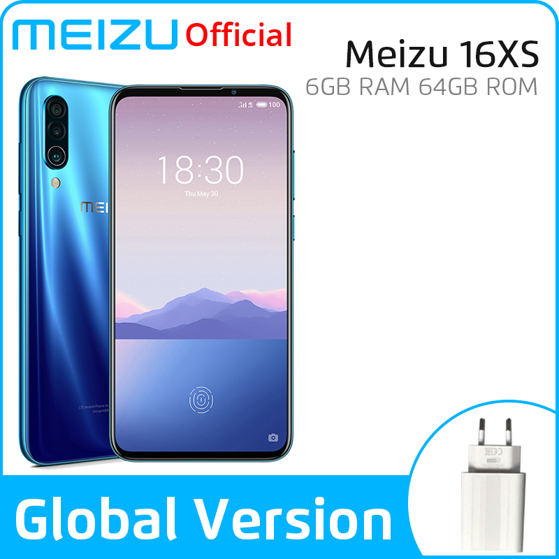 Meizu 16xs S Global Version Meizu16xs 6GB 64GB Smartphone Snapdragon 675 Octa Core 48MP Triple Camera Android Phone Fast Charge