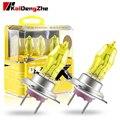 2 шт., автомобильные галогенные лампы H1 H3 H4 H7 H9 H11 9005 9006 100 Вт 12 в 2800 к
