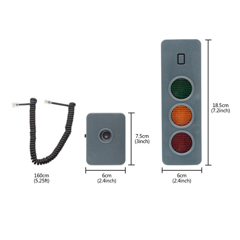 Safe-Light Parking System Assist Distance Stop-Aid Guide Sensor Kit For Home Garage PR Sale