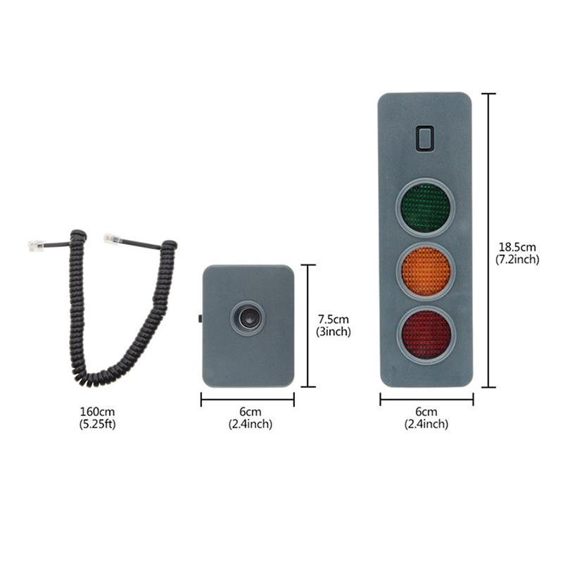 Safe-Light Parking System Assist Distance Stop-Aid Guide Sensor Kit For Home Garage PR Sale