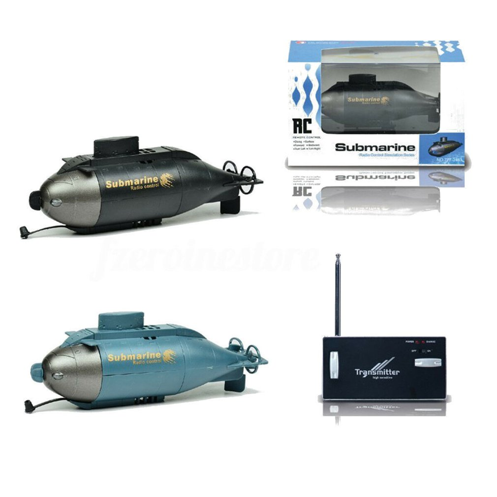 777   216 Full Function Fish Torpedo Wireless 40MHz RC Submarine Pigboat Toy Gift|RC Submarine| |  - title=