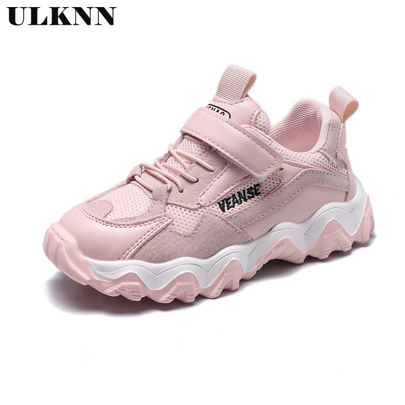 ULKNN Sneakers For Girls Boys 2020 Spring New Children's Shoes For Baby Kids Korean Version Casual Shoes Tide Shoes Student