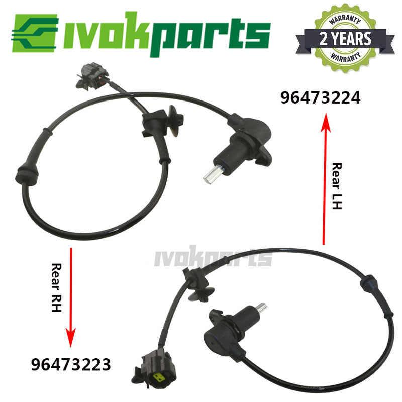 HZTWFC Front Right ABS Wheel Speed Sensor 96473222 Compatible for Chevrolet Aveo Kalos Aveo5 Pontiac G3 Daewoo Kalos