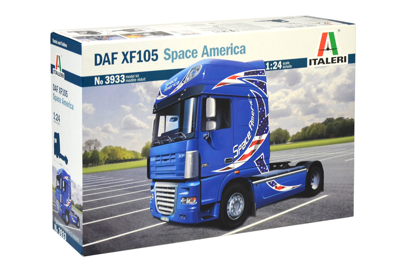 DAF XF-105 SPACE AMERICA 3933 Tow Assembly Model