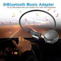 Nowo odbiornik aux Bluetooth kabel z adapterem USB do VW Audi A4 A5 A6 Q5 Q7 przed 2009 wejściem Audio Media interfejs AMI MDI w Zestawy samochodowe Bluetooth od Samochody i motocykle na