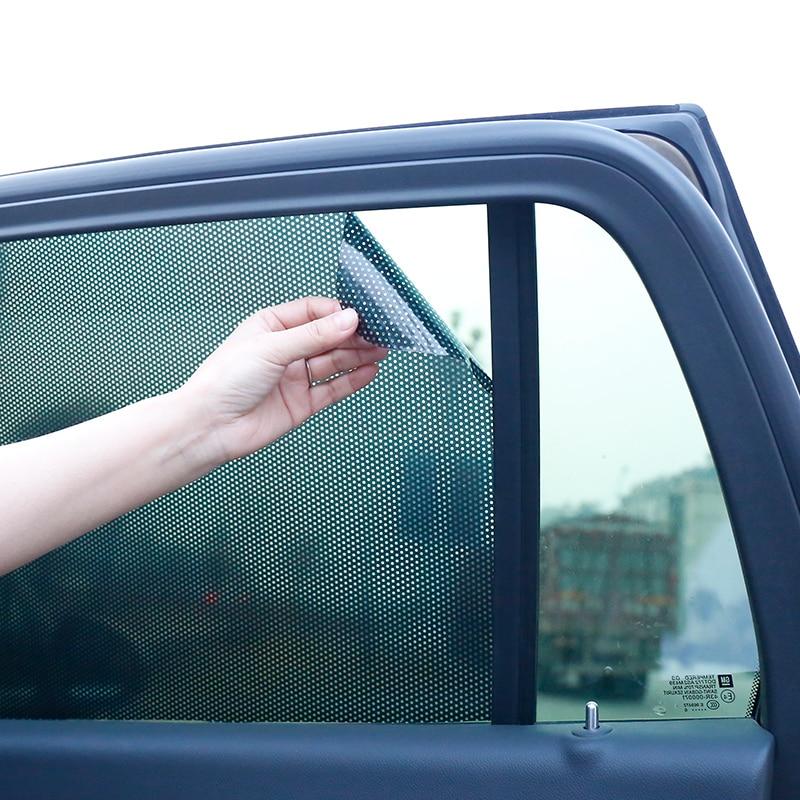SUNICE 122CM de large noir mouche oeil perforé maille Film voiture lumière phare adhésif emballage autocollant noir voiture teinte maison teinte décor