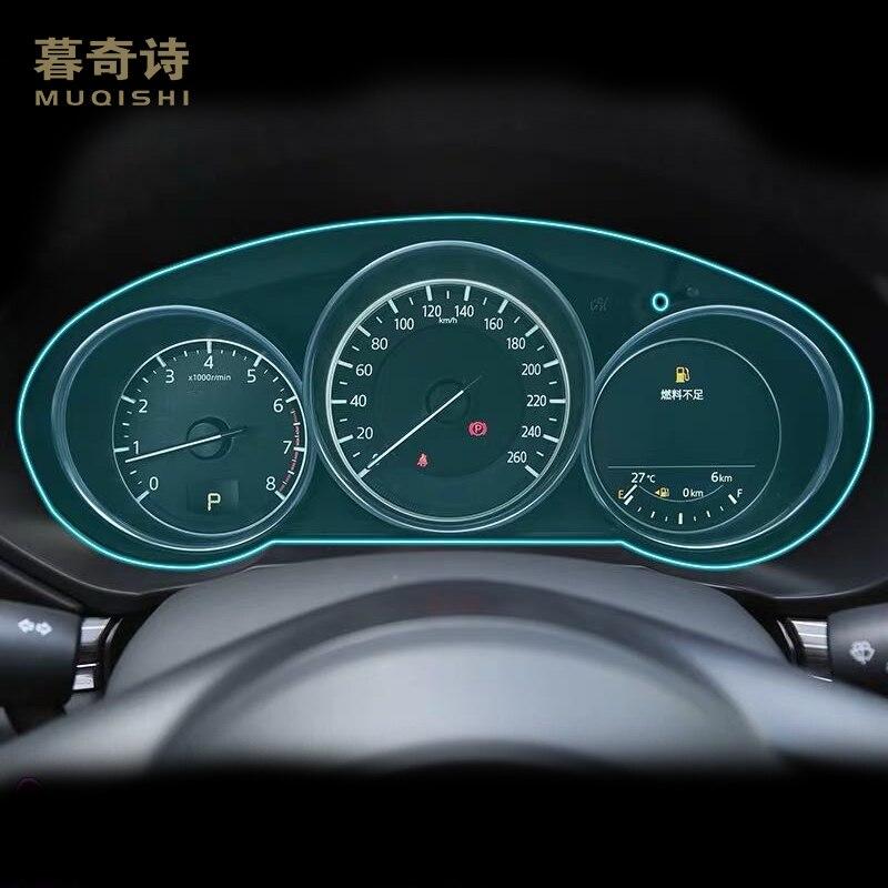 For Mazda CX-5 CX5 2017 2018 2019 Dashboard Panel Film Cover Instrunment Panel Screen Protector TPU Sticker Interior Accessories