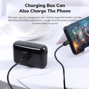Image 5 - Topk Draadloze Hoofdtelefoon Tws Bluetooth 5.0 Oortelefoon IPX5 Waterdichte Stereo Oordopjes Sport Koptelefoon Headsets Voor Iphone Xiaomi