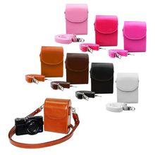 Винтаж из искусственной кожи Камера чехол сумка для sony HX30 HX50V HX60 HX90 RX100M2 RX100M3 M4 RX100 V WX500 аксессуары