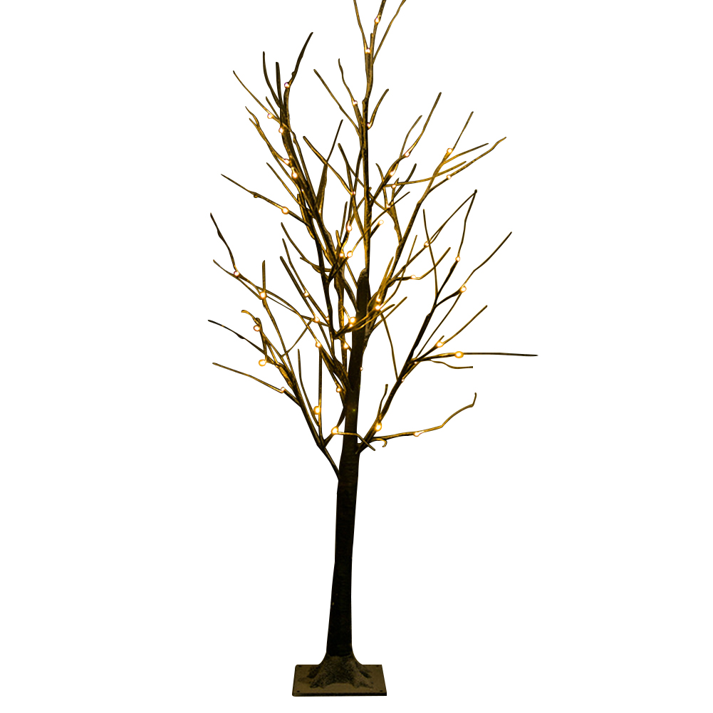 Simulation Tree Christmas Garden Decorative Party Led Light Energy Saving Festival Home Indoor Eye Protect Stage Practical
