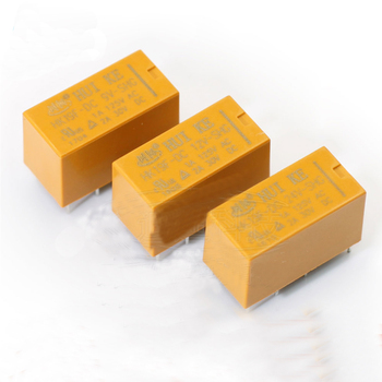 1PCS HK19F-DC 3 5 9 12 24 V-SHG 8PIN 2A 2 Open 2 Closed Relay Signal relay Communication relay Electromagnetic relay недорого