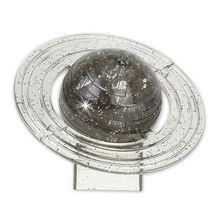 3D Crystal Saturn Planet Puzzle Home Table Decoration Intellective Learning Toy