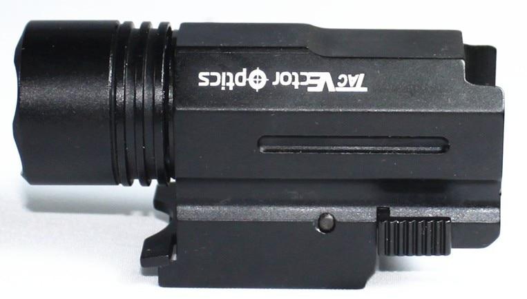 Óptica do vetor compacto tático iluminador lanterna