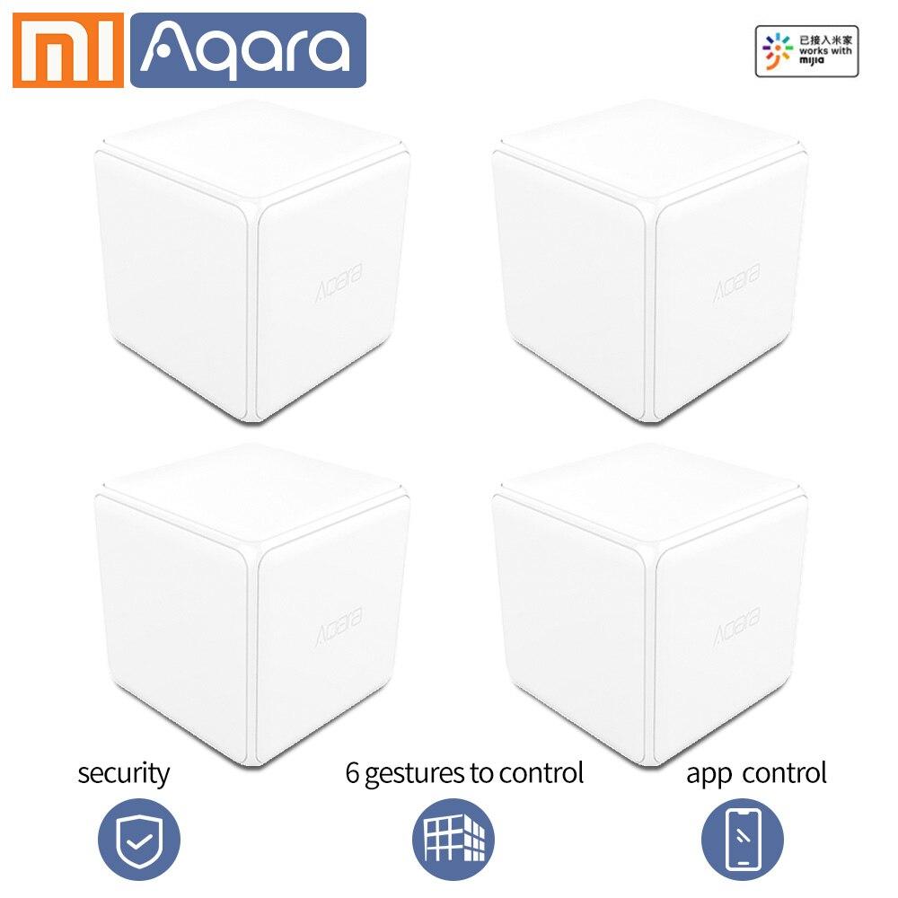 Aqara волшебный куб контроллер беспроводной переключатель 6 жестов Xiao mi умный дом датчик moiton датчик Zigbee wifi mi home