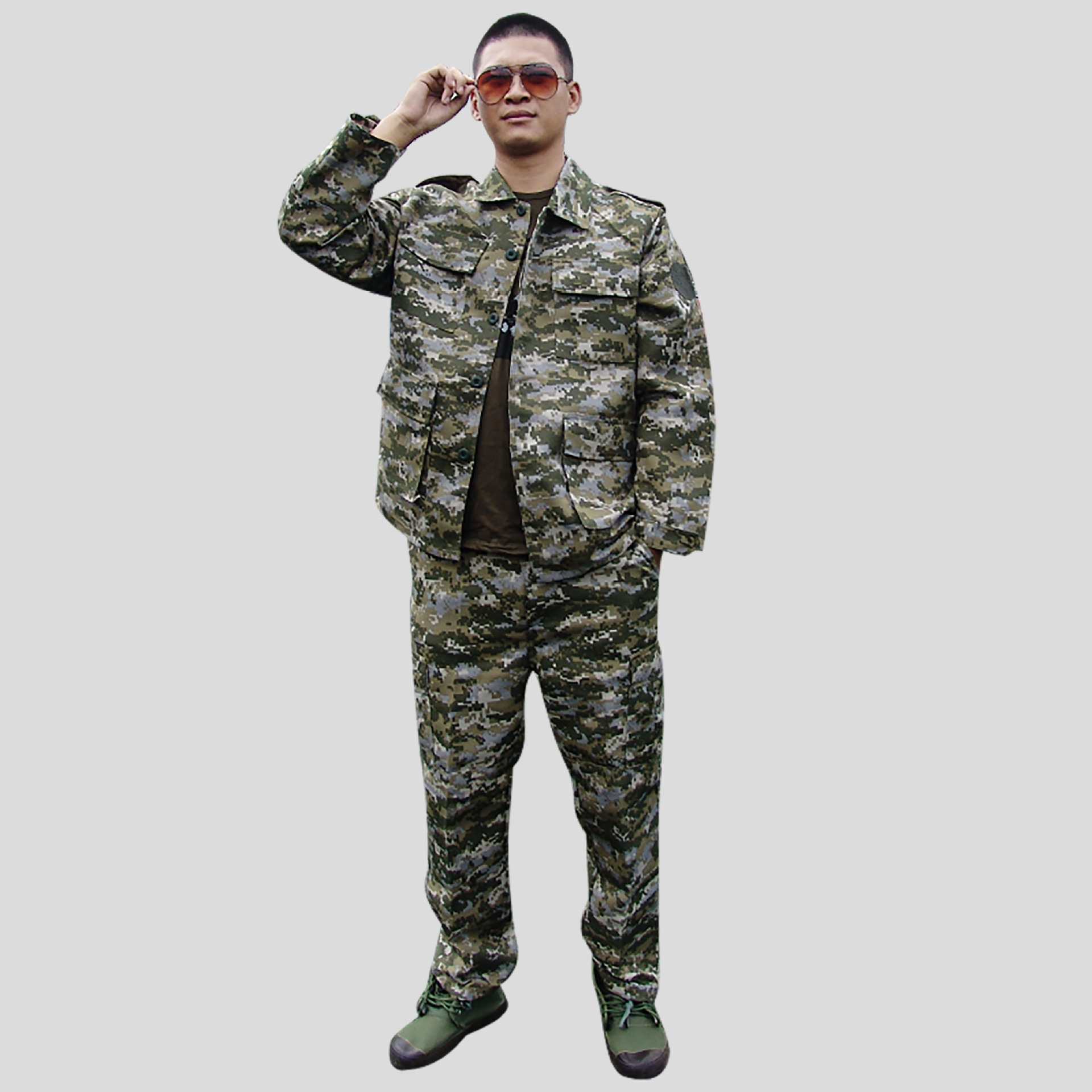 Export | Middle East Army Field Jacket Iraq Camouflage Military Training Suit Camouflage Set