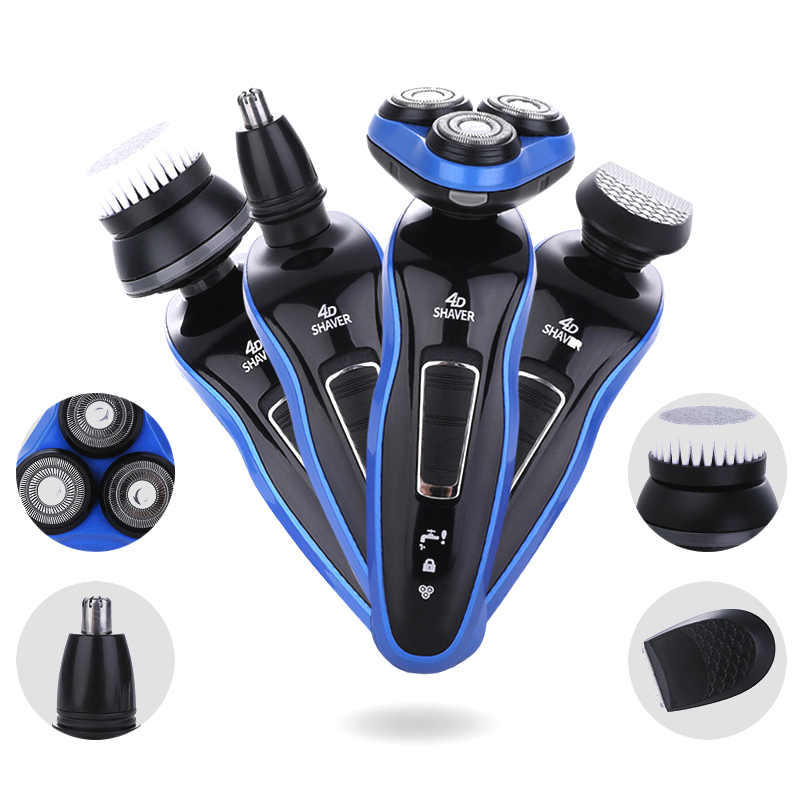 Razor Beard-Trimmer Shaving-Machine Electric-Shaver Professional Washable Whole-Body title=