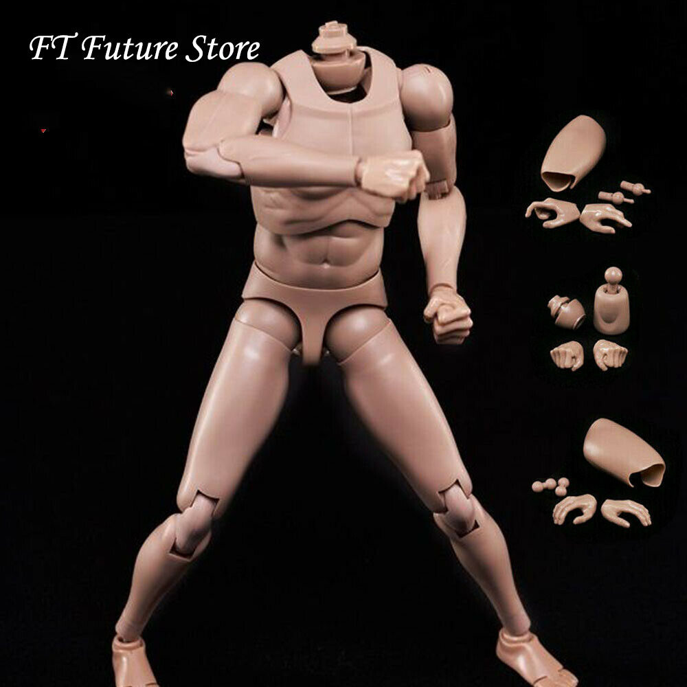 """1//6 Male Body Model Toy Flexible Standard Figure Muscle for 12/"""" Action MX02-A"""