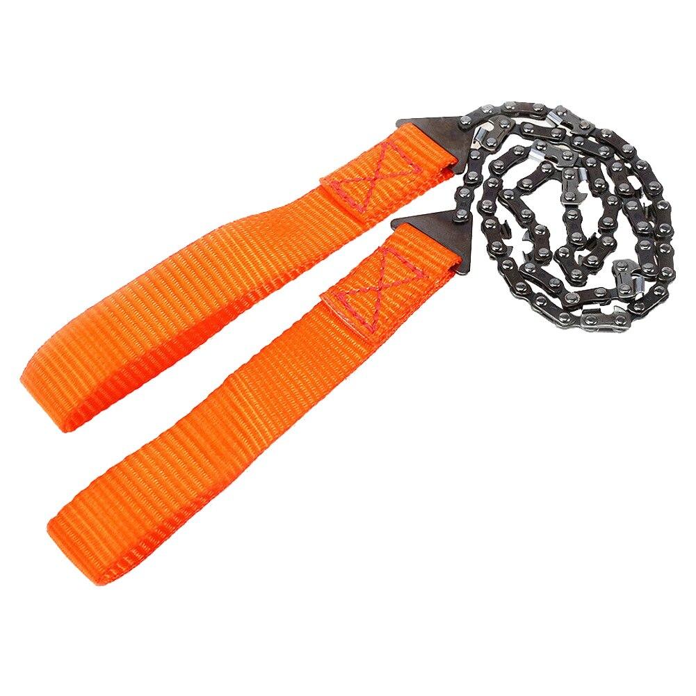 Hand saw has chain handles nylon ultra resistance bushcraft survivalisme