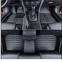 цена на lsrtw2017 leather car floor mats for mazda 6 mazda6 atenza gj 2012 2013 2014 2015 2016 2017 2018 2019 accessories carpet rug